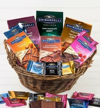 Ghirardelli Chocolate Basket
