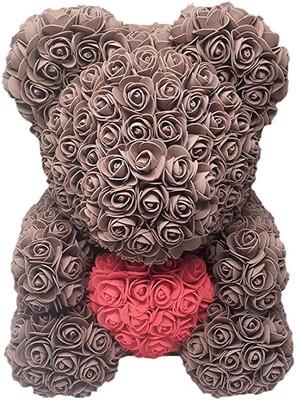 Brown Rose Bear