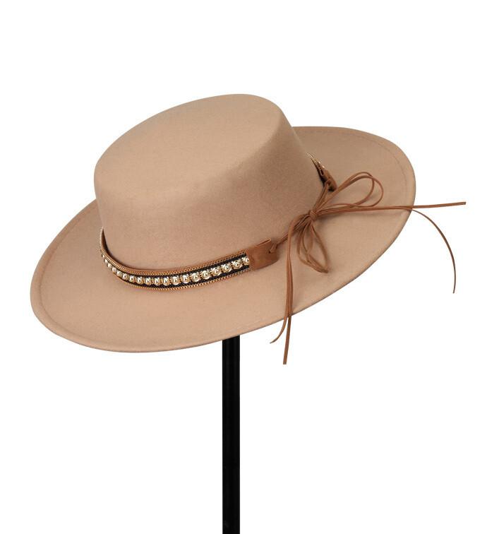 Tan Gaucho Hat