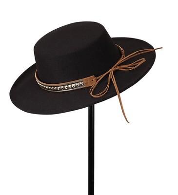Black Gaucho Hat