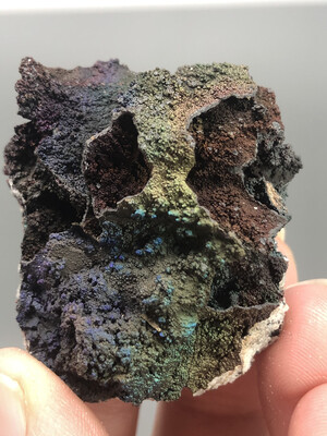 Turgite With Iridescent Hematite
