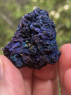 Iridescent Hematite On Turgite