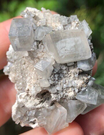 Calcite Cluster With Marcasite