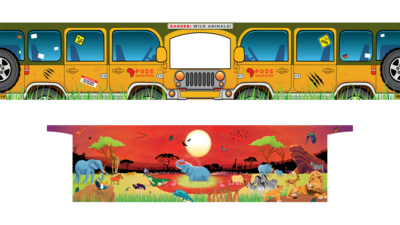 PRE ORDER - Removable Themes - Sunset Savanna Safari