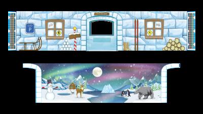 Removable Themes - Polar Ice Igloo