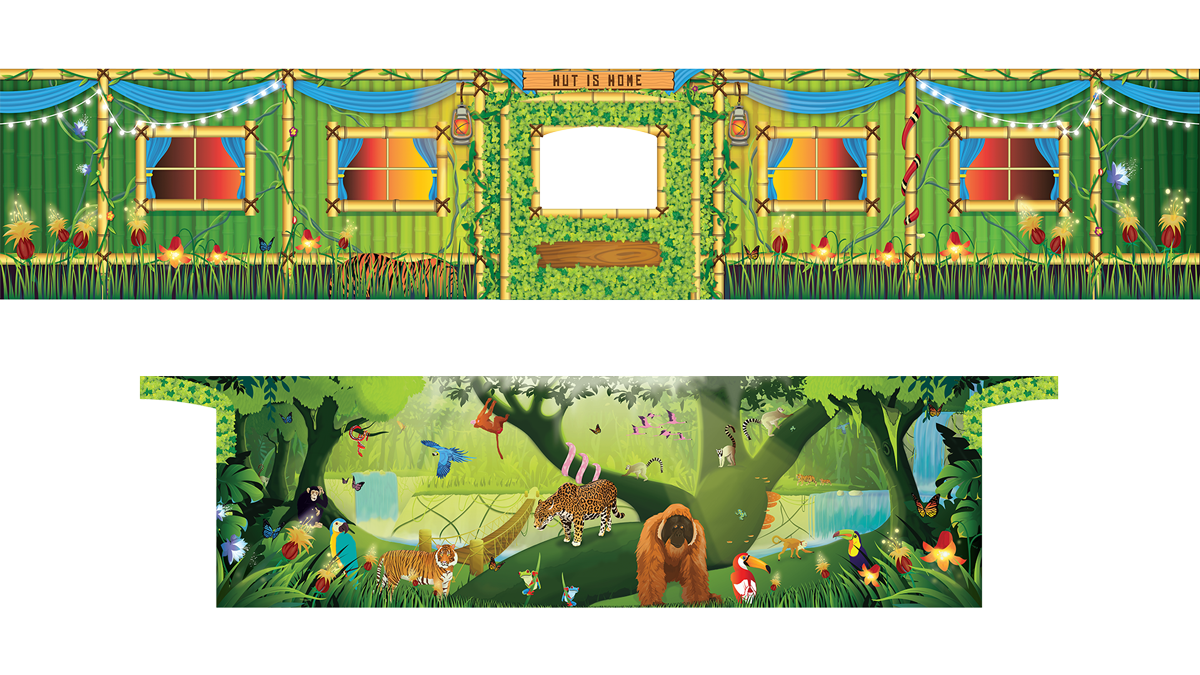PRE ORDER - Removable Themes - Rumble in the Jungle