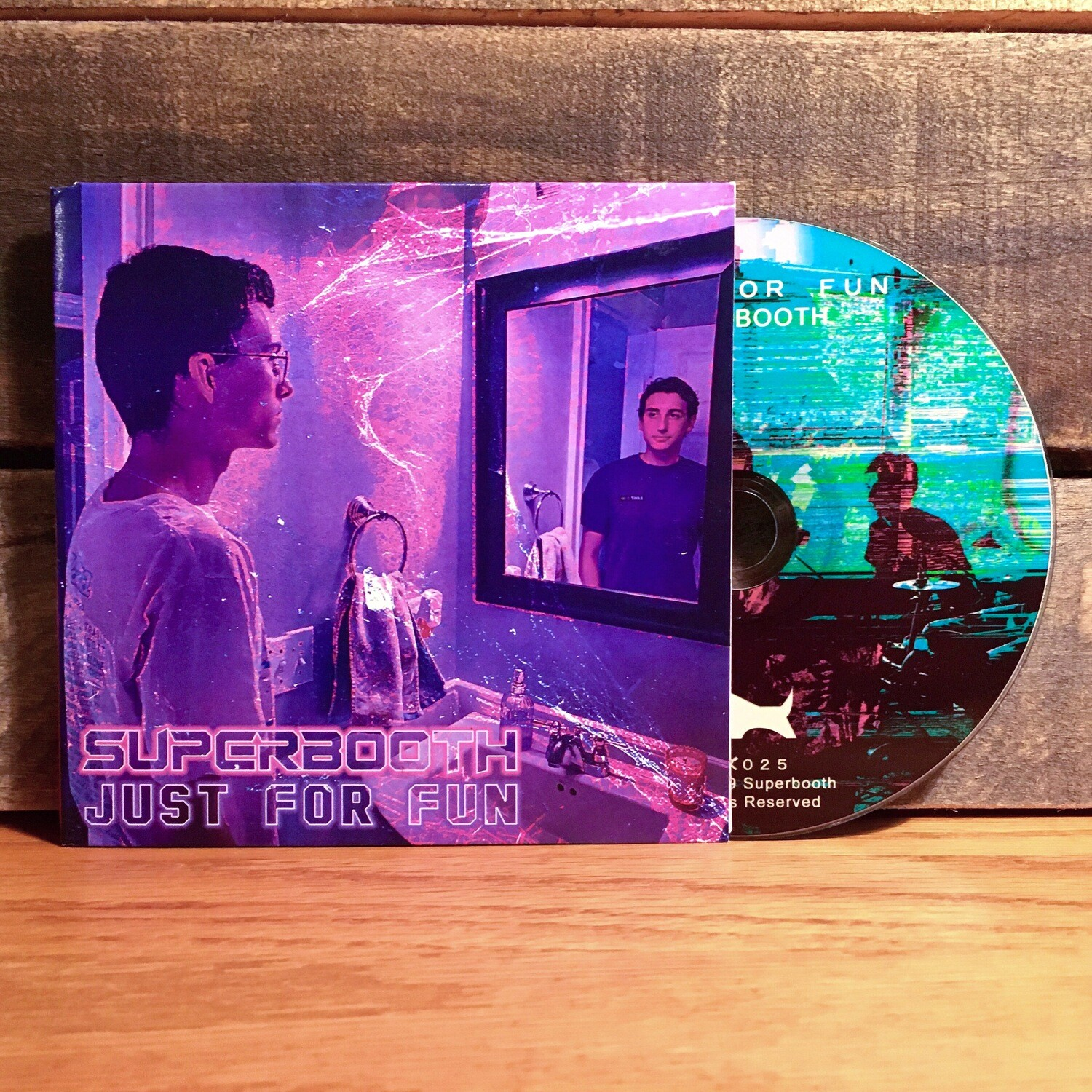 """""""Just For Fun"""" by Superbooth - CD"""