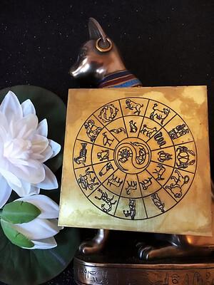 Cairo Zodiac Plaque