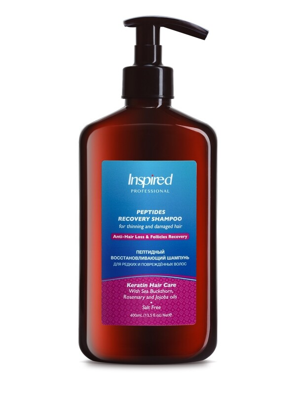 PEPTIDES RECOVERY SHAMPOO for thinning and damaged hair