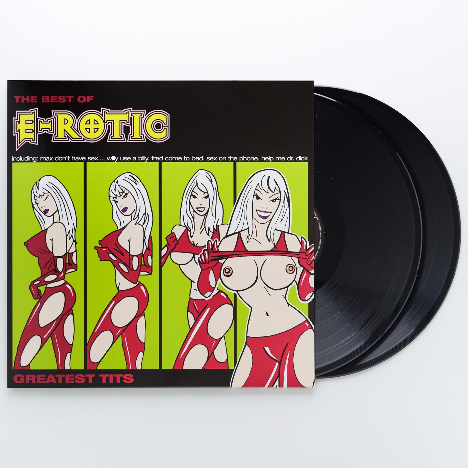 LP: E-Rotic — «Greatest Tits — The Best Of E-Rotic 1994–2003» (2019/2021) [2LP Black Vinyl]