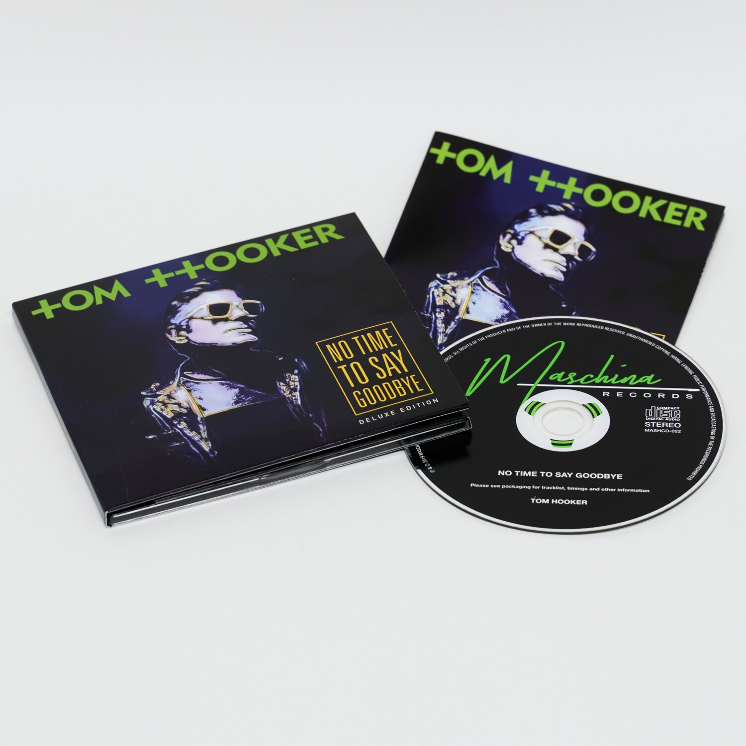 CD: Tom Hooker — «No Time To Say Goodbye» (2019)