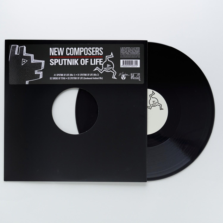 """12"""": New Composers — «Sputnik Of Life» (1990/2019) [Black Vinyl]"""