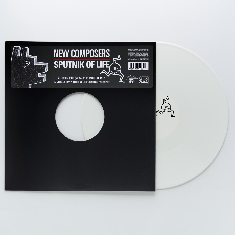 "12"": New Composers — «Sputnik Of Life» (1990/2019) [Wihte Vinyl]"