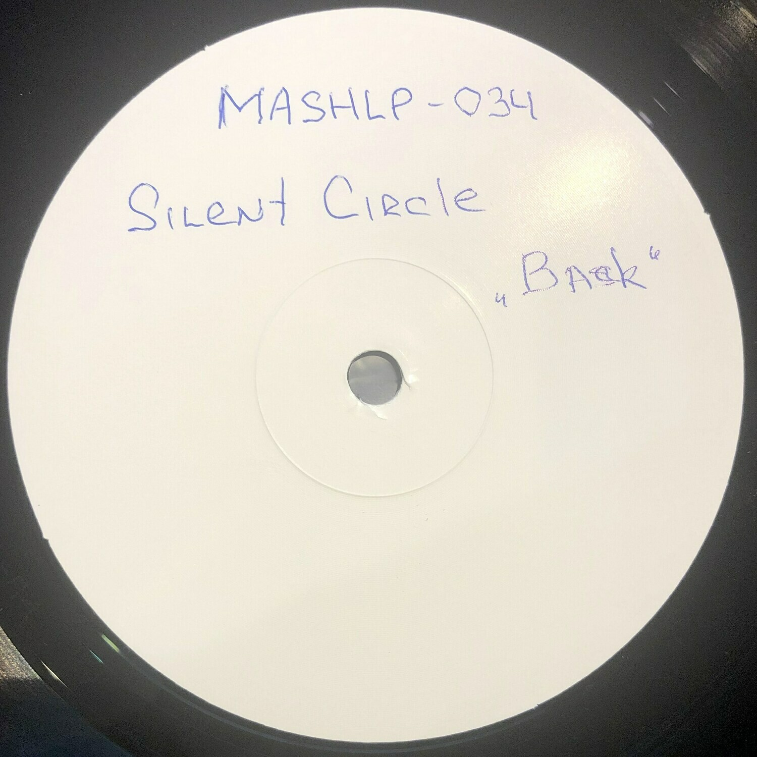 LP: Silent Circle — «Back!» (1994/2019) [Test Press Vinyl]