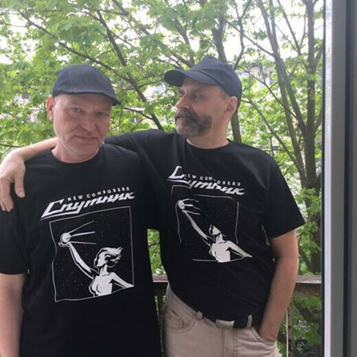 T-shirt: New Composers — «Sputnik»