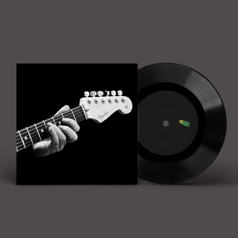 "[PRE-ORDER] 7"": YK (Юрий Каспарян, «Кино») — «YK» (2020) [Black Vinyl]"