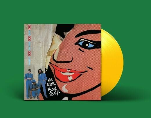 LP: Bad Boys Blue — «Hot Girls, Bad Boys» (1985/2020) [Limited Yellow Vinyl]