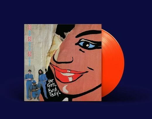 [PREORDER] LP: Bad Boys Blue — «Hot Girls, Bad Boys» (1985/2020) [Limited Orange Vinyl]
