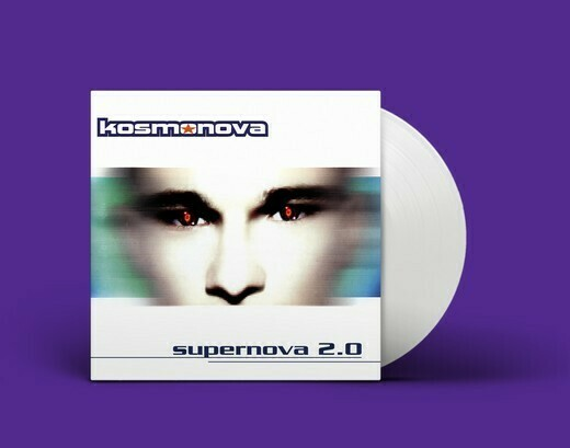 LP: Kosmonova — «Supernova 2.0» (1997–20/2020) [Limited White Vinyl]