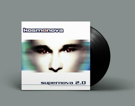 LP: Kosmonova — «Supernova 2.0» (1997–20/2020) [Black Vinyl]