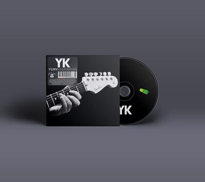 CD: YK (Юрий Каспарян, «Кино») — «YK» (2020)