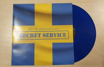 LP: Secret Service — «The Lost Box» (2012/2019) [Limited Blue Vinyl]