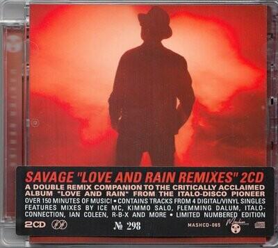 CD: Savage — «Love and Rain» (2020) (2CD Remix Album)