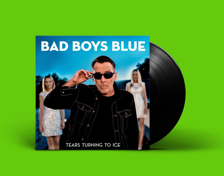 [PREORDER] LP: Bad Boys Blue — «Tears Turning To Ice» (2020) [Black Vinyl]