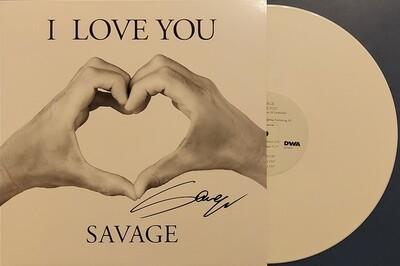 """12"""": Savage — «I Love You» (2020) [Signed Maxi Single]"""