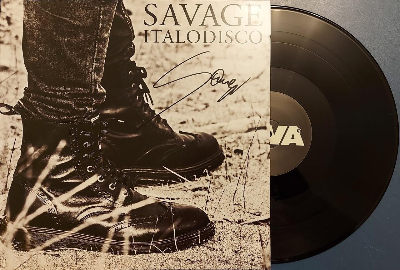 """12"""": Savage — «Italodisco» (2020) [Signed Maxi Single]"""
