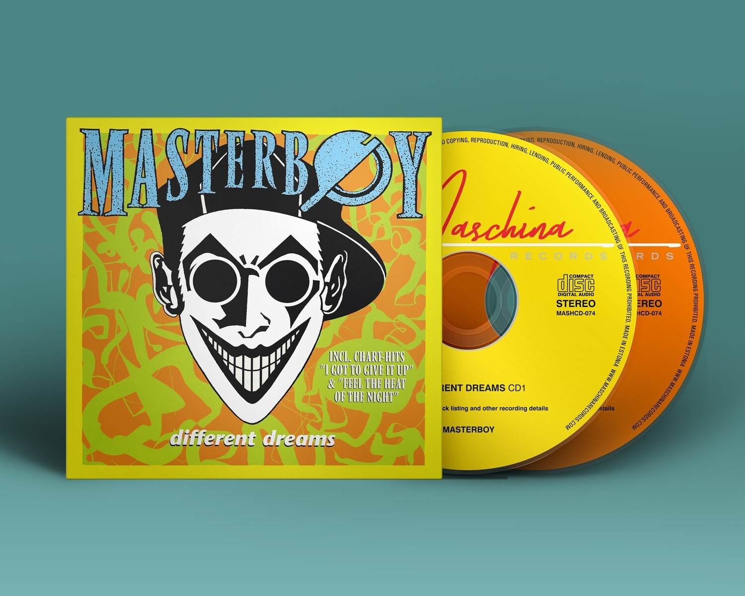 CD: MASTERBOY — «Different Dreams» (1994/2021) [2CD Ultimate Edition]