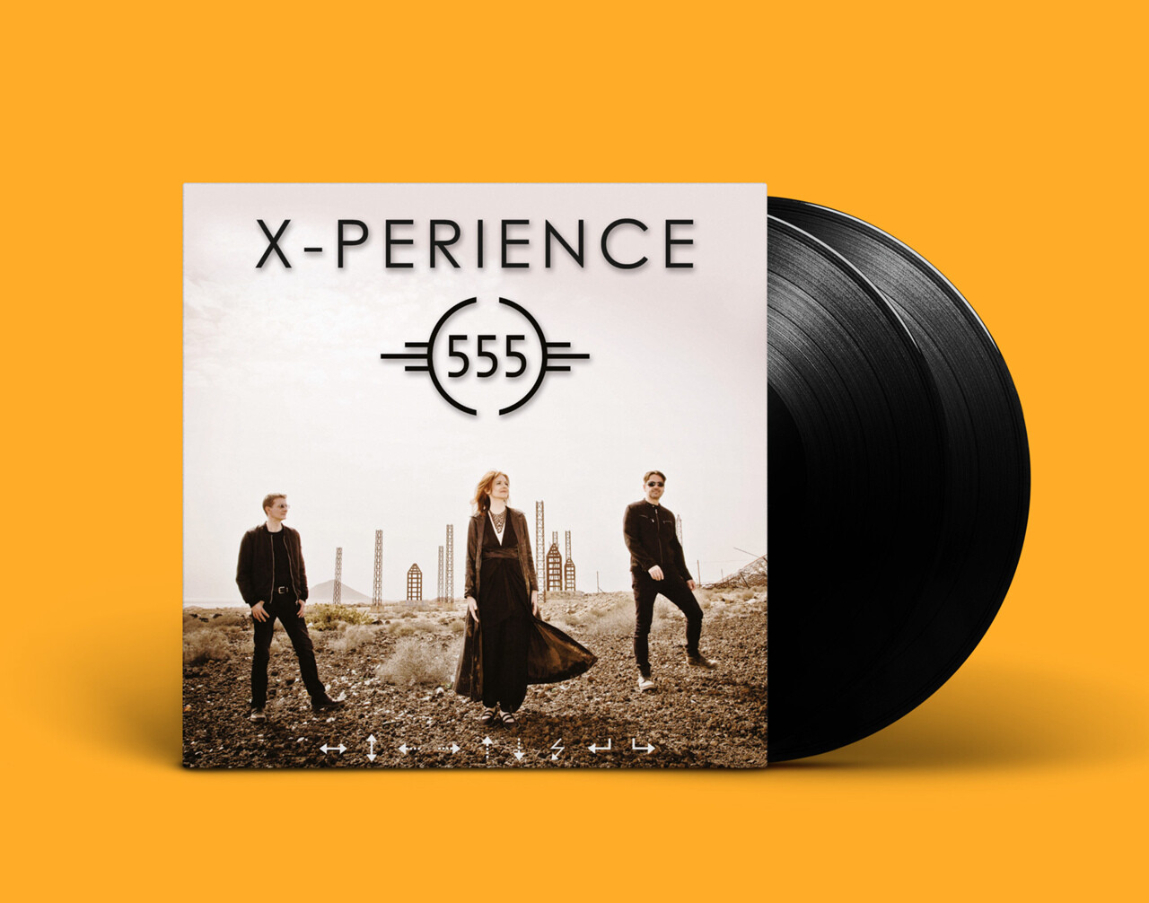 LP: X-Perience — «555» (2020/2021) [2LP Black Vinyl]