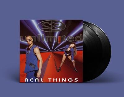 [PREORDER] LP: 2UNLIMITED  — «Real Things» (1994/2021) [2LP Black Vinyl]