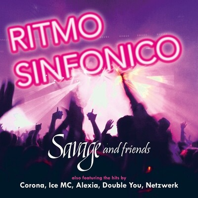 LP: Savage — «Ritmo Sinfonico» (2020) [Signed Vinyl] Cover condition: VG