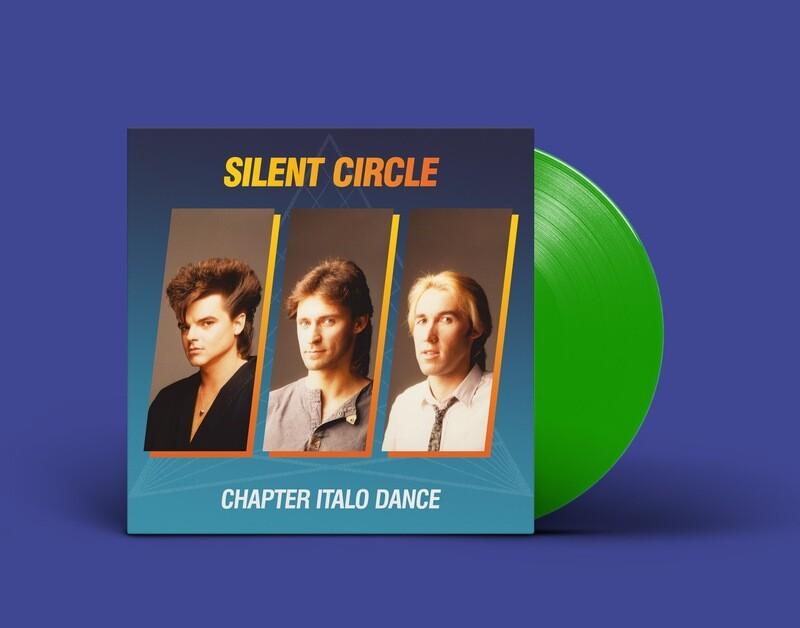 LP: Silent Circle — «Chapter Italo Dance» (1984–91/2020) [Limited Green Vinyl]