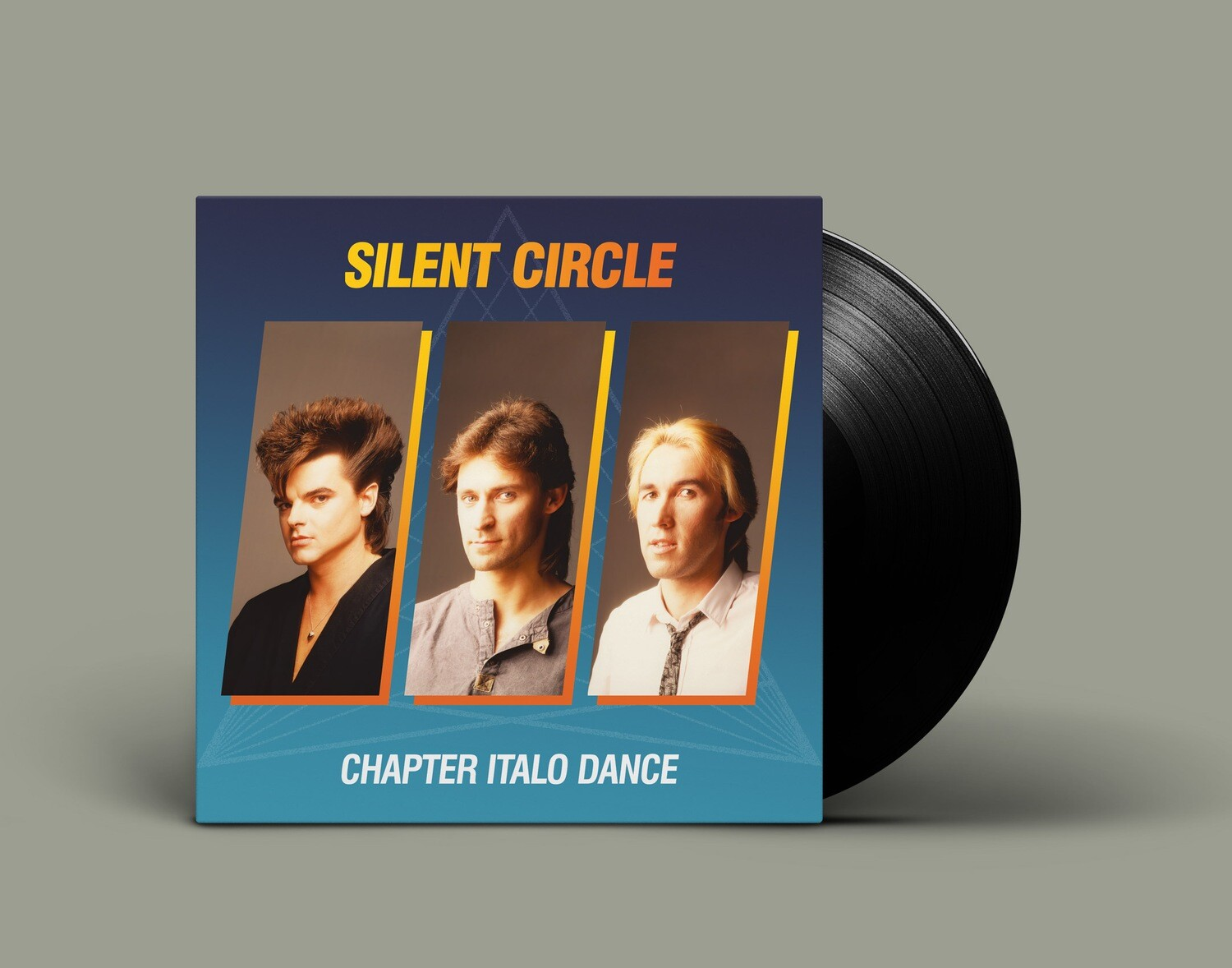[PREORDER] LP: Silent Circle — «Chapter Italo Dance» (1984–91/2020) [Black Vinyl]