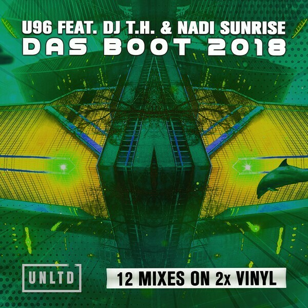 LP: U96 Feat. DJ T.H. & Nadi Sunrise — «Das Boot 2018» (2019) [2LP Random Coloured Edition]