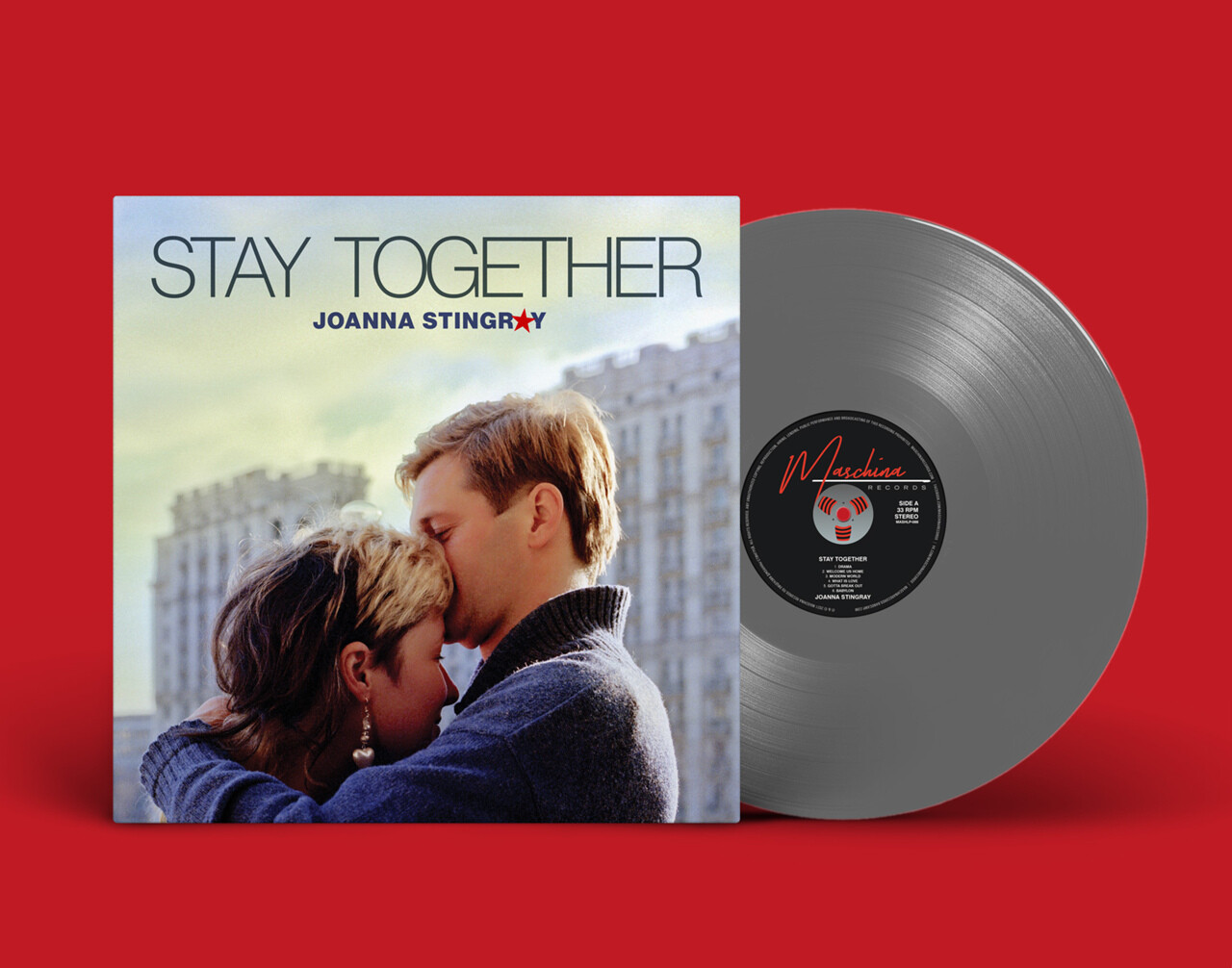LP: Joanna Stingray — «Stay Together» (2021) [Limited Silver Vinyl]