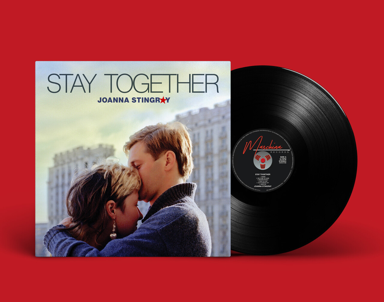 LP: Joanna Stingray — «Stay Together» (2021) [Black Vinyl]