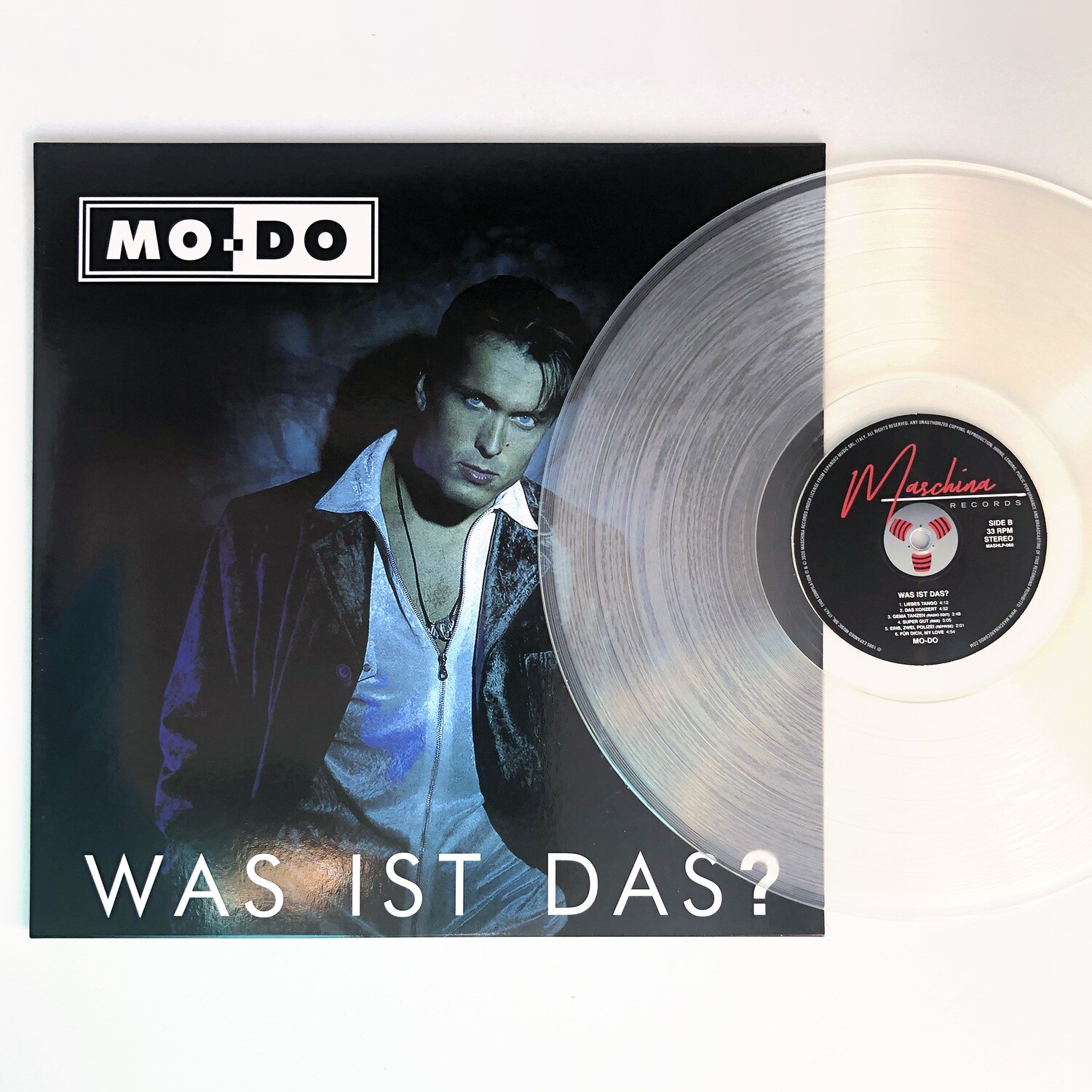 [PREORDER] LP: Mo-Do — «Was Ist Das?» (1995/2021) [Limited Ultraclear Vinyl]