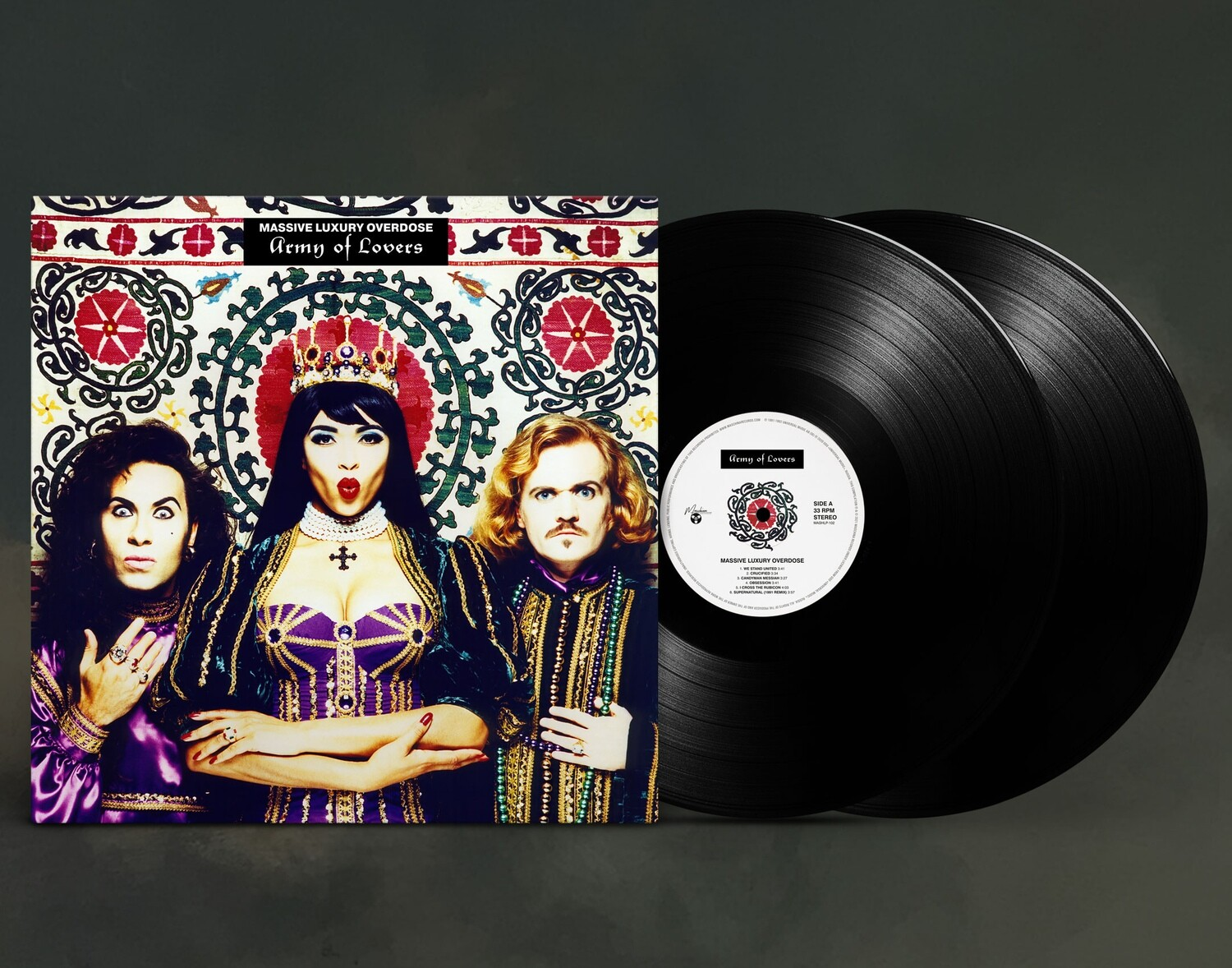 LP: Army Of Lovers — «Massive Luxury Overdose» (1991/1992) [Ultimate Edition Black 2LP]