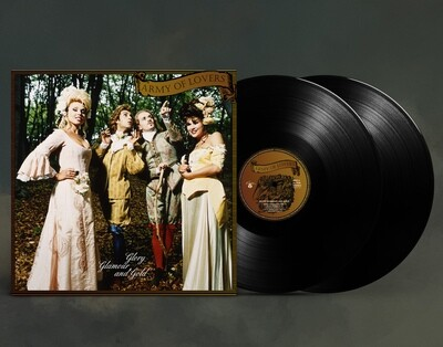 LP: Army Of Lovers — «Glory Glamor And Gold» (1994/1996) [Ultimate Edition Black 2LP]