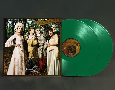 LP: Army Of Lovers — «Glory Glamor And Gold» (1994/1996) [Ultimate Edition Limited Green 2LP]
