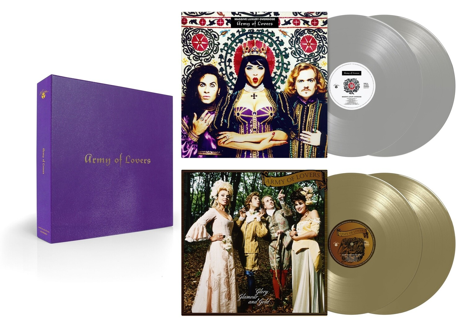 Box-set: Army Of Lovers — «Lovers Box I» (2021)