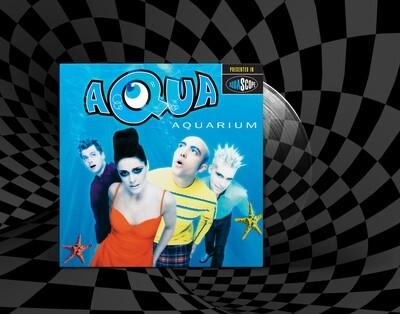 [PREORDER] LP: Aqua — «Aquarium» (1997/2021) [Spring Water Vinyl]