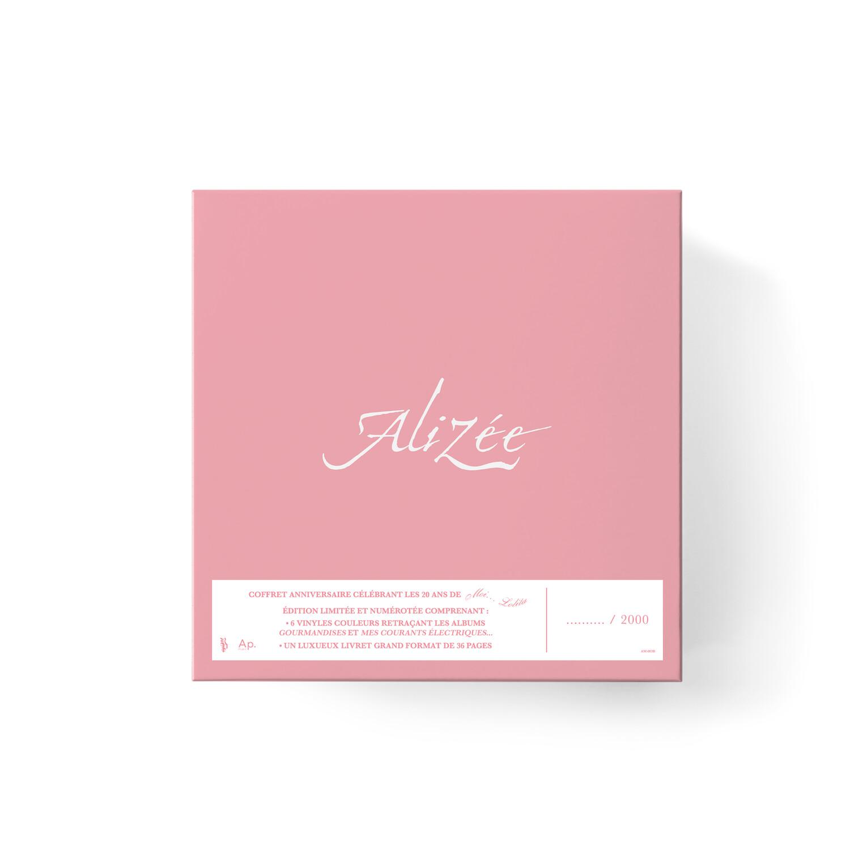 Alizée – Alizée 6 LP  LIMITED EDITION BOX