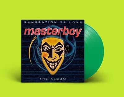 [PREORDER] LP: Masterboy — «Generation Of Love» (1995/2021) [Green Vinyl]