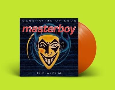 [PREORDER] LP: Masterboy — «Generation Of Love» (1995/2021) [Orange Vinyl]