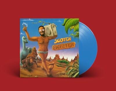 [PREORDER] LP: Scotch — «Evolution» (1986/2021) [Blue Vinyl]