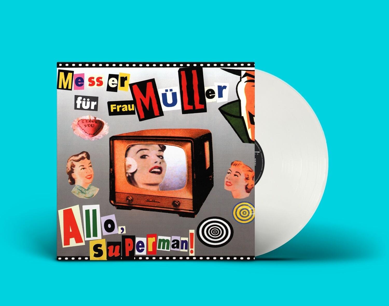 [PREORDER] LP: Нож для Фрау Мюллер — «Алло, Супермен!» (1999/2021) [Limited Coloured Vinyl]